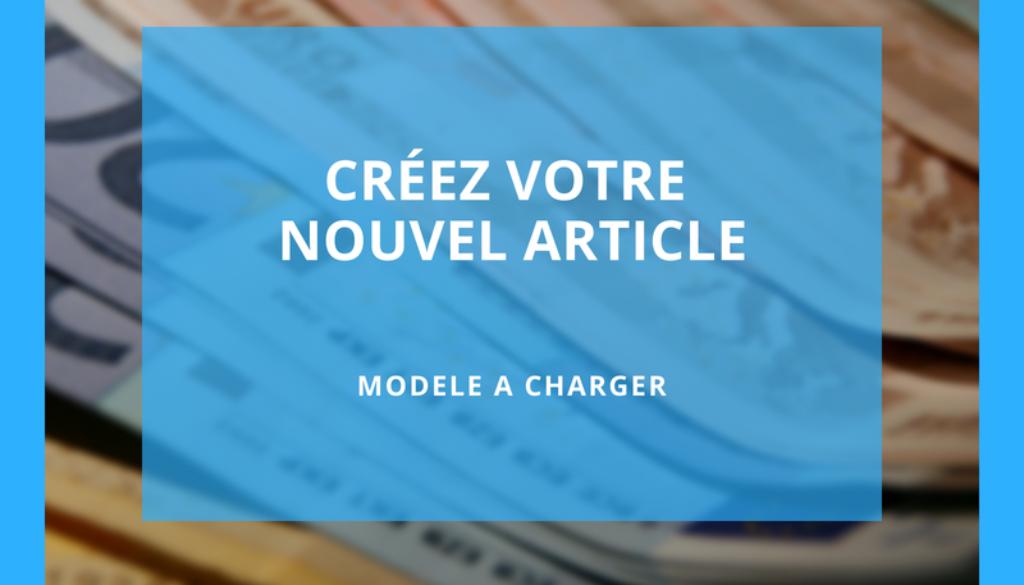 modele article
